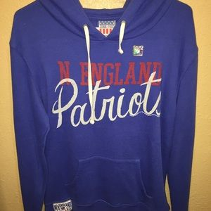 Junk Food Clothing Sweaters - Junk Food Clothing s New England Patriots  Sweater b14cde86b